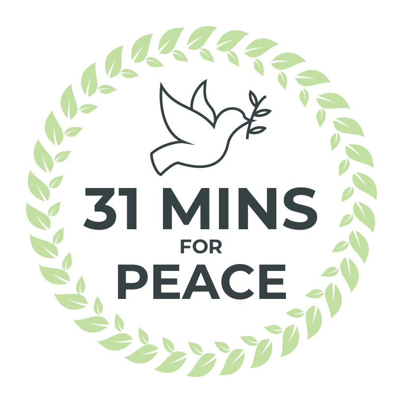 31 Minutes for Peace Logo