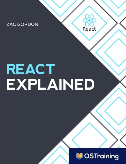 React Explained Book Cover from Zac Gordon