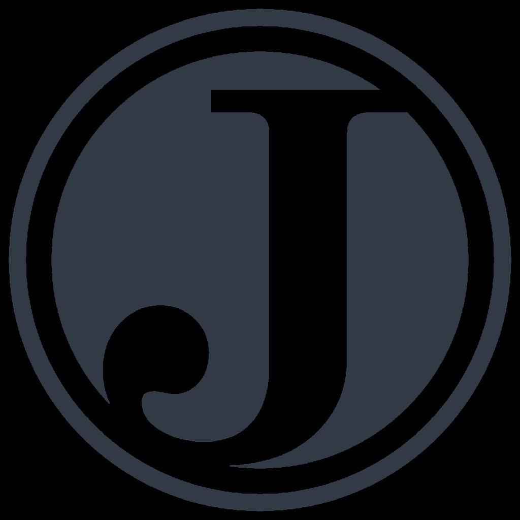 "JavaScript for WordPress Logo ""J"""